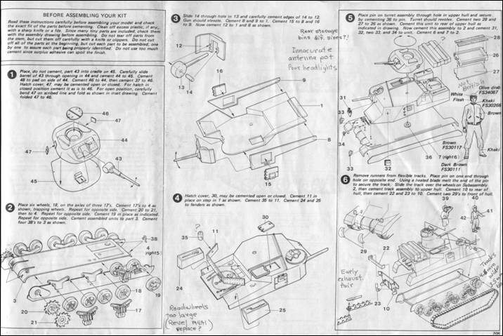 Modeling The M3 Medium Tank In 1  72 Scale
