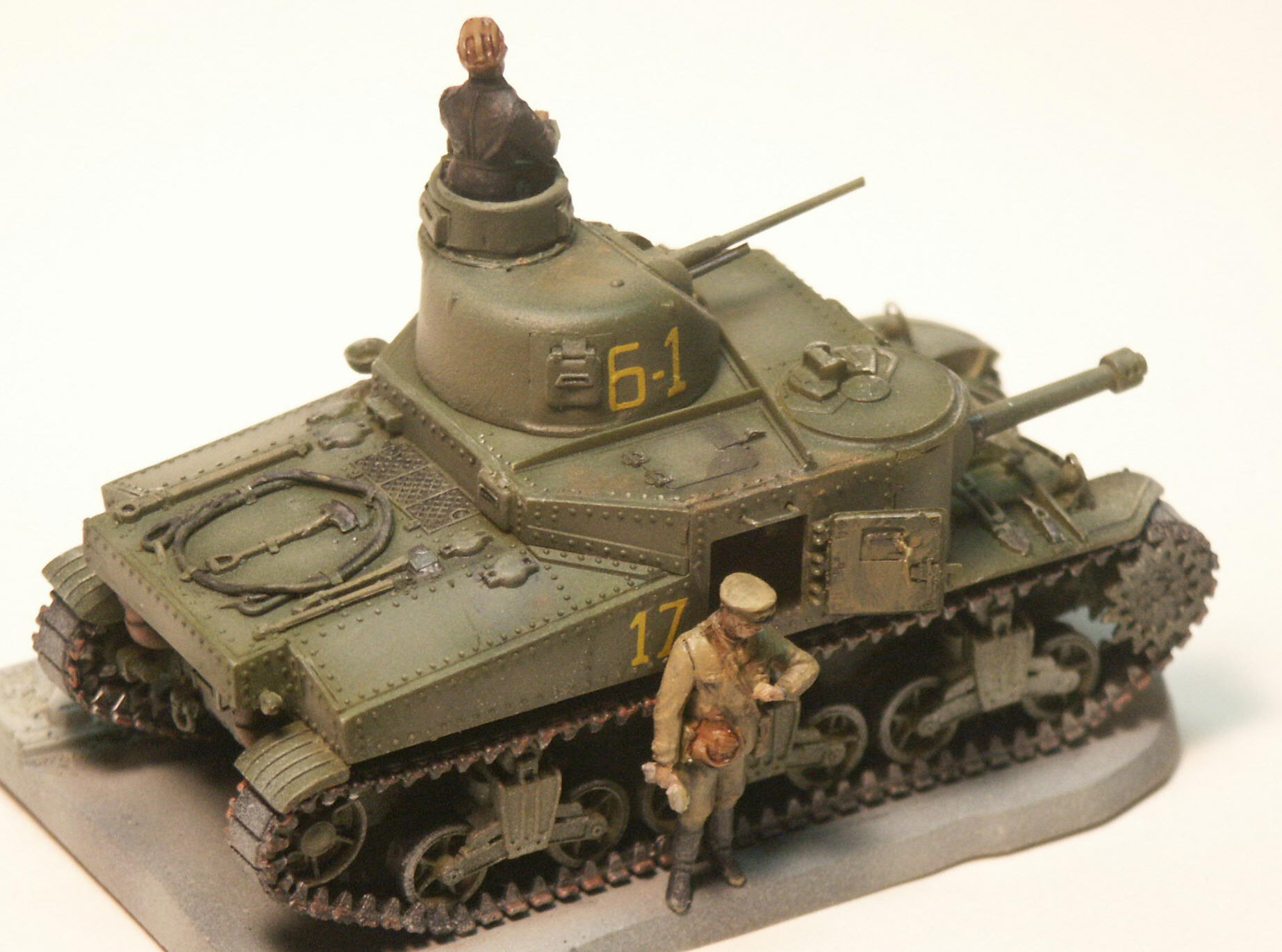 Modeling The M3 Lee Medium Tank The Iron Cathedral In 1