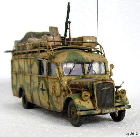 Jim Gordon Opel Blitz Omnibus
