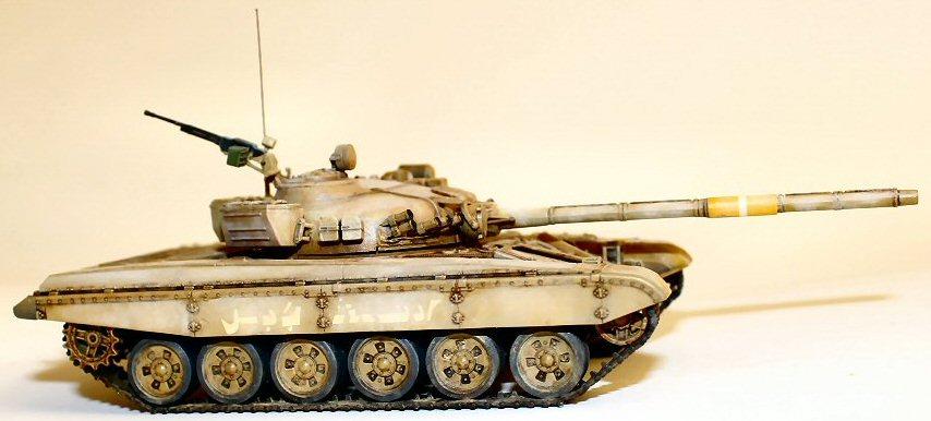 Matt Reeves Revell T-72M1