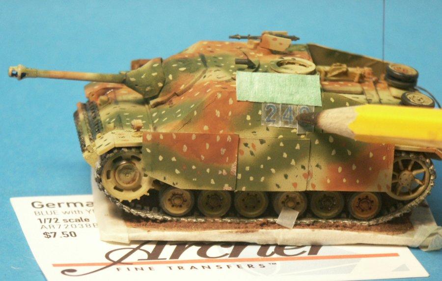 Stephen Brezinski 1 72nd Scale Sturmgesch 252 Tz Iii Ausf H