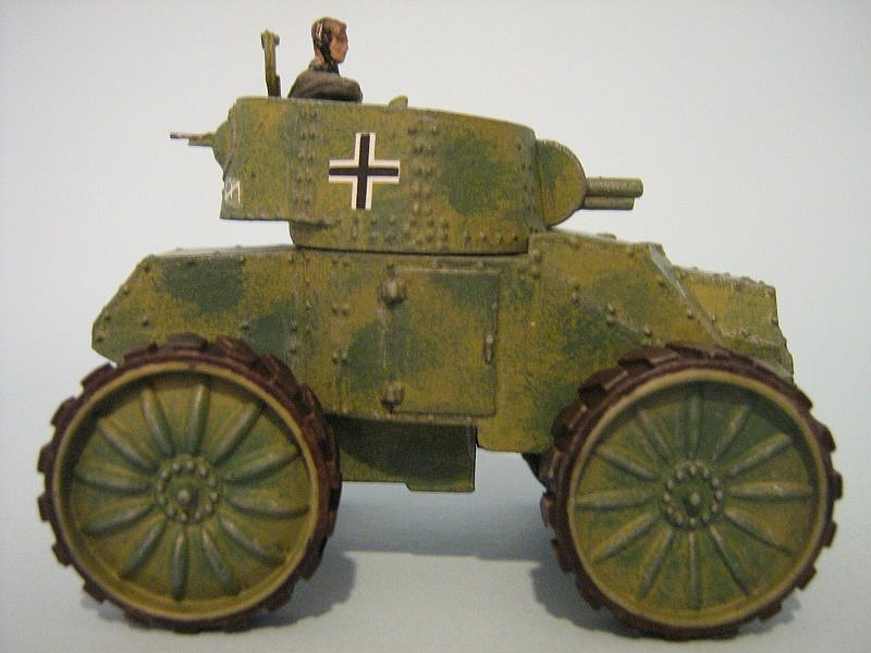 What Is Suspension In Car >> Tony Ivey 1/72nd Scale Den Bels Fiat Ansaldo Armoured Car