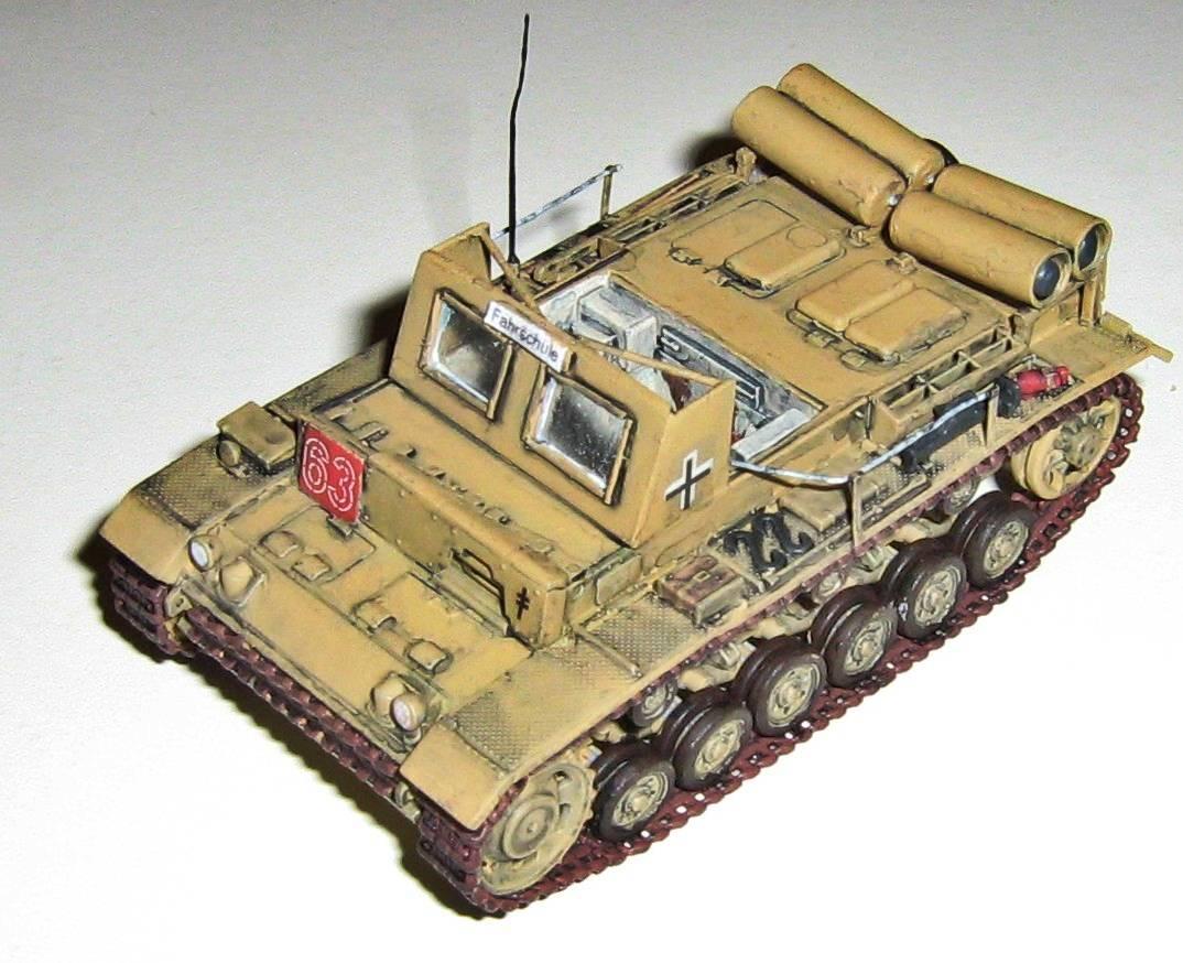 tony ivey lehrpanzer auf pzkpfw iii ausf l mit erdgas antrieb