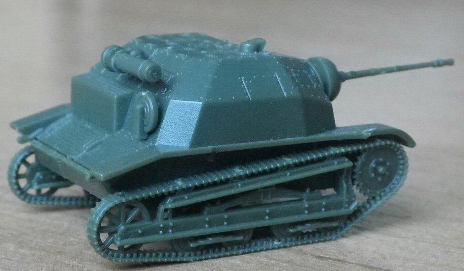 First to Fight 1//72 FTF-001 WWII Polish TKS Light Tank w//20mm Gun