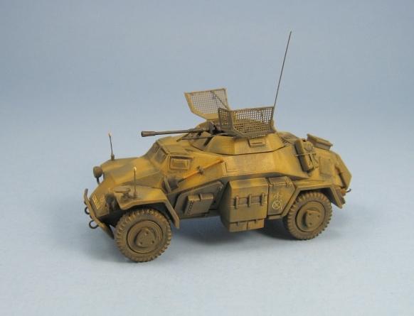 icm sd german light armored vehicle kit no 72411. Black Bedroom Furniture Sets. Home Design Ideas