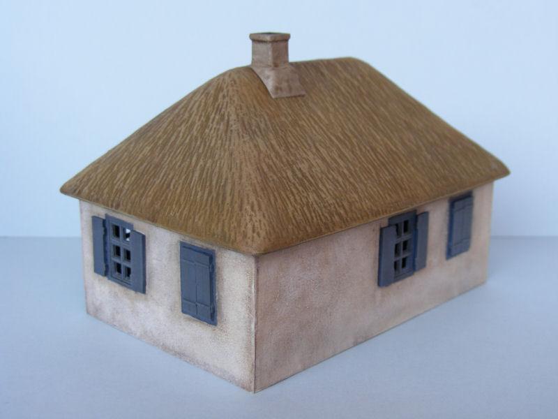 Miniart East European Village House Kit No 72016