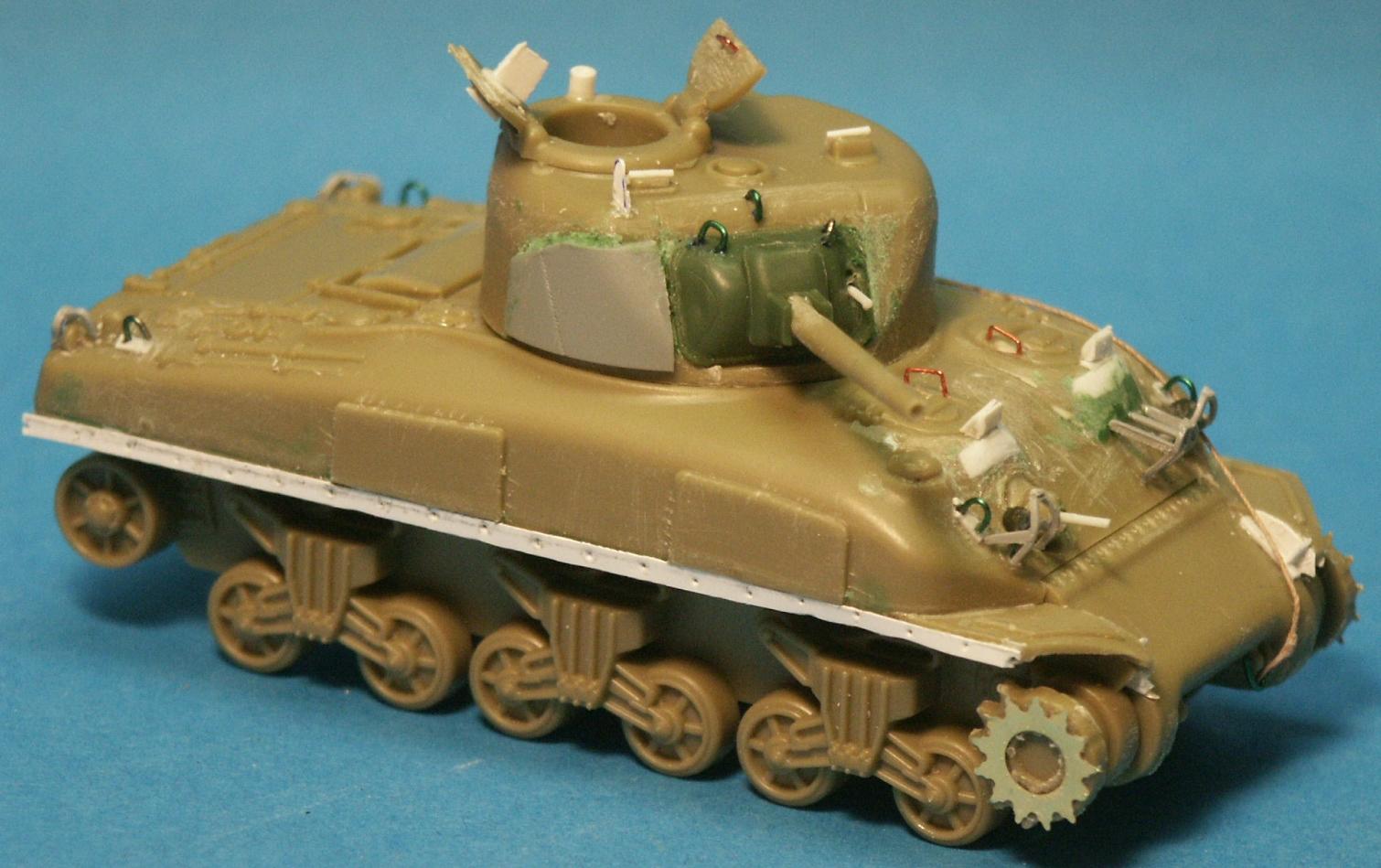 Psc Allied M4a1 Sherman Tank