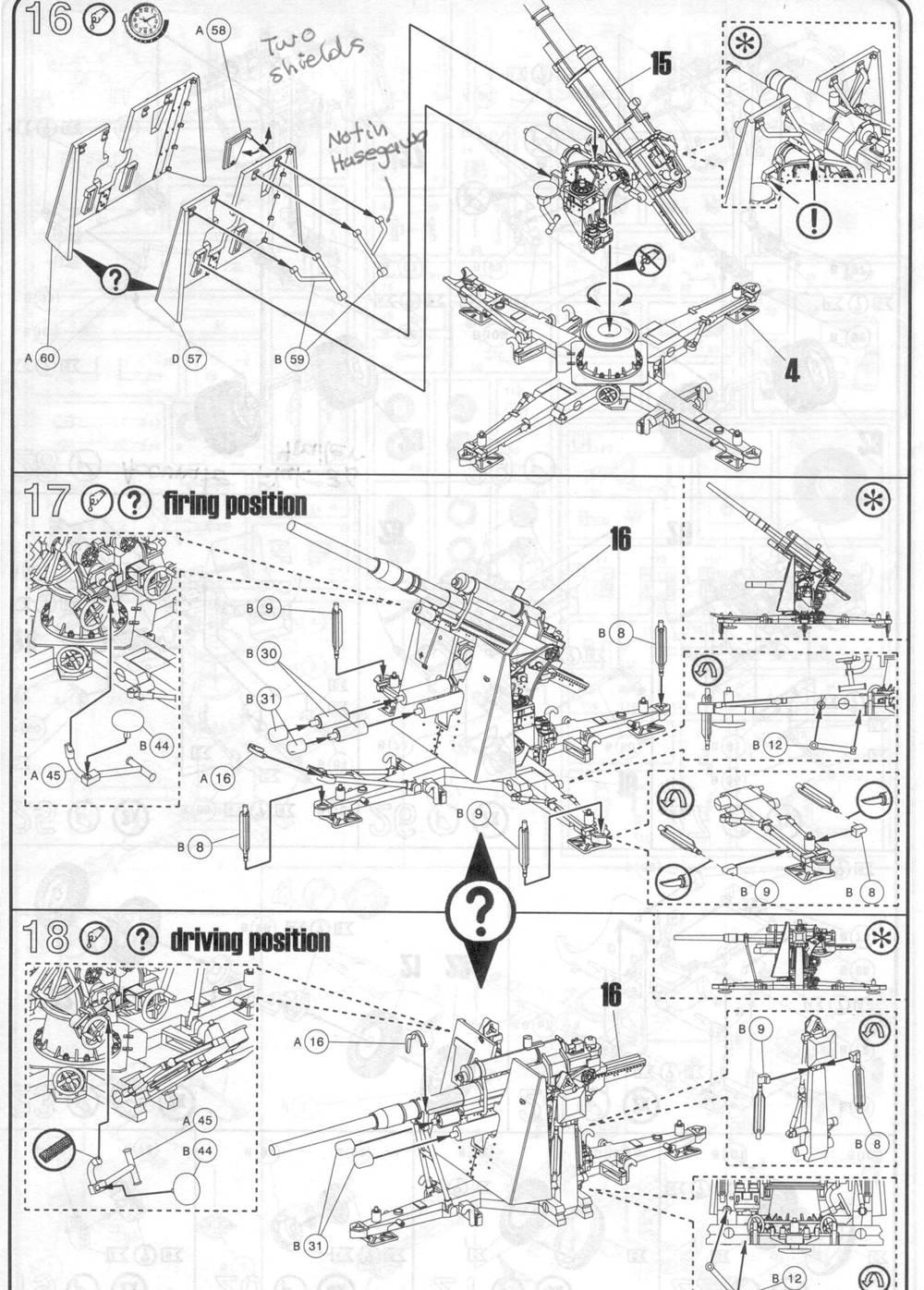 revell 03174 8 8cm flak36