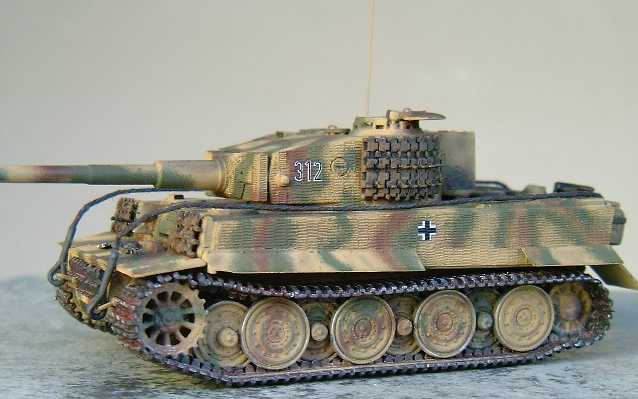 Tiger tank color schemes pictures to pin on pinterest