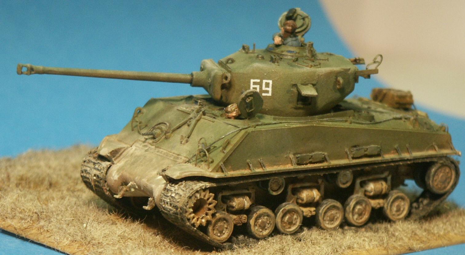 Trumpeter/MR Models M4A2E8(76) Sherman