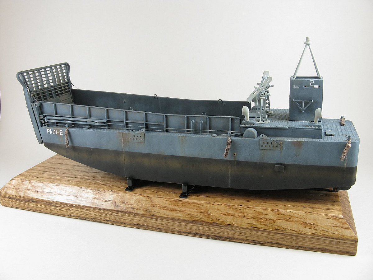 Trumpeter Ww2 Lcm 3 Usn Vehicle Landing Craft Kit No 07213