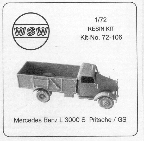 Wsw 72 106 Mercedes L3000s