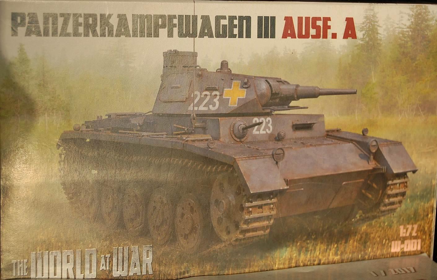 World at War kit W-001 PzKpfw III Ausf A